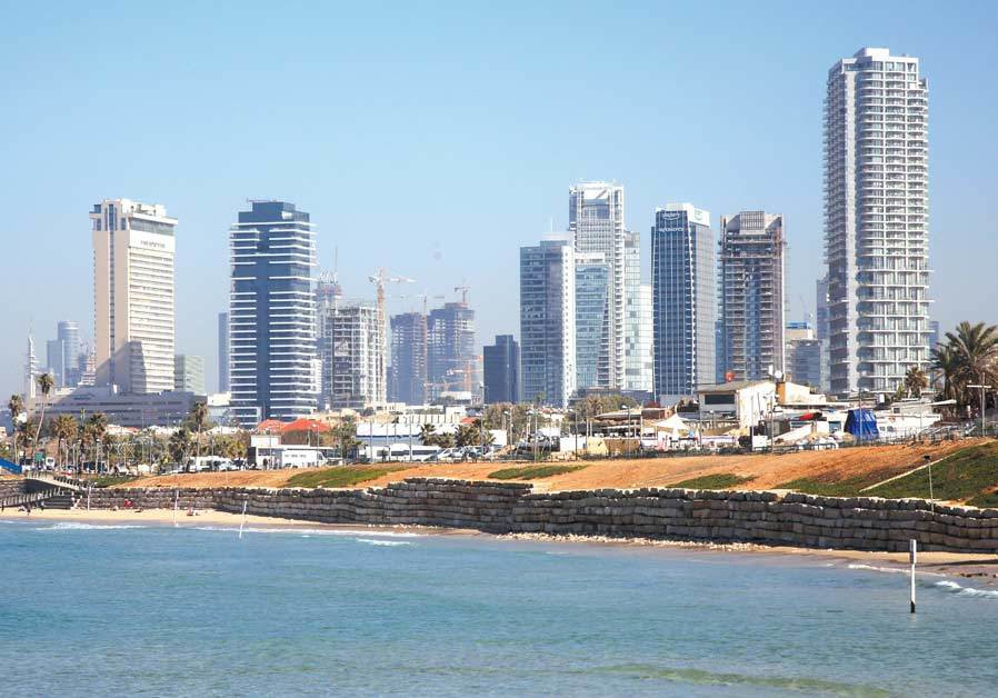 'ASSUMING THAT things stay more or less the same, what will we have?' – Buildings in Tel Aviv seen f