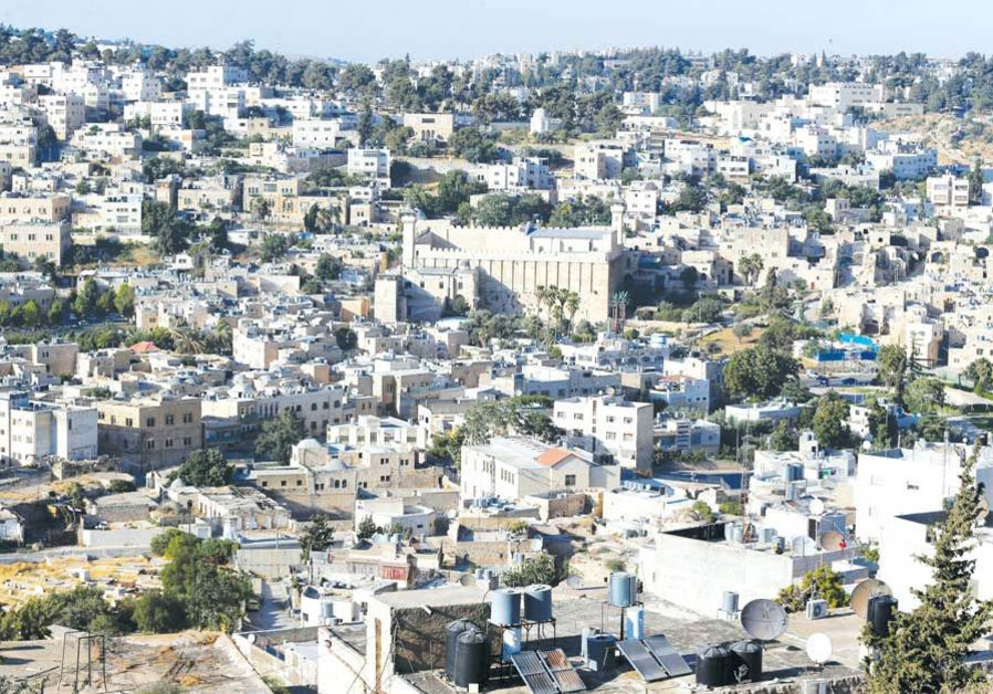A GENERAL view of Hebron, last month.