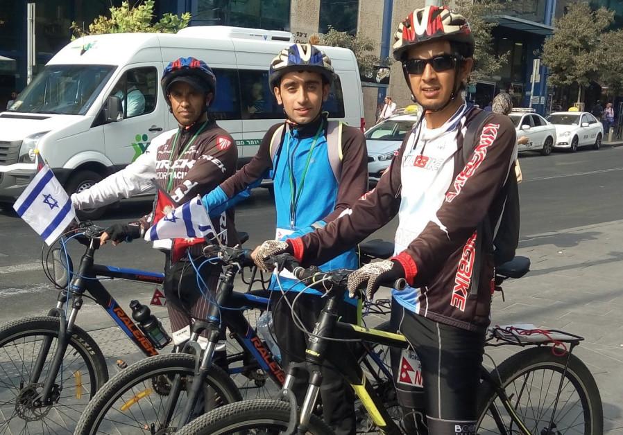 Nirmal Baral, Anish Dhakel and Dilip Chhetri