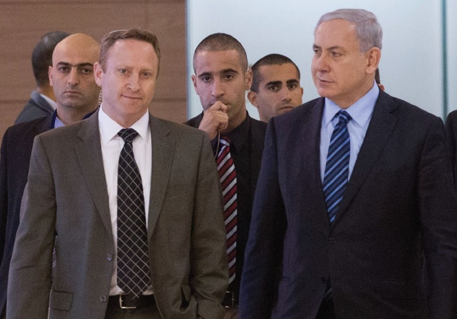 Prime Minister Netanyahu and former chief of staff Ari Harow
