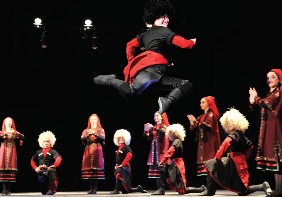 Georgian dance grooves