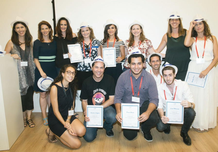 Enterprising olim complete small-business incubator