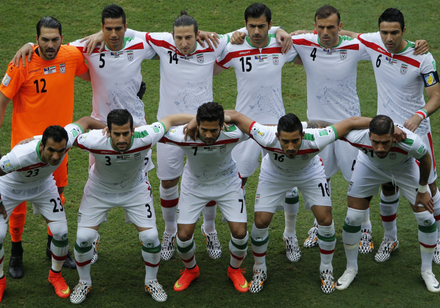 Iranian soccer players condemned after playing against Israeli team