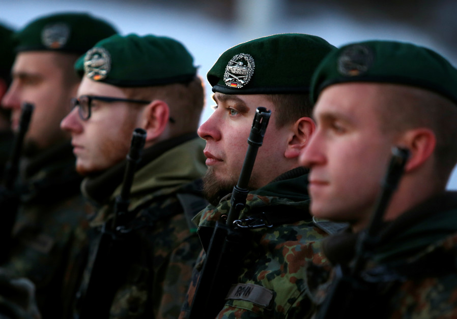 German court dismisses soldier for denying Israel's existence