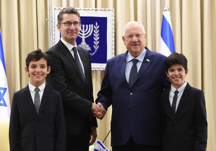 Four new ambassadors to Israel present credentials