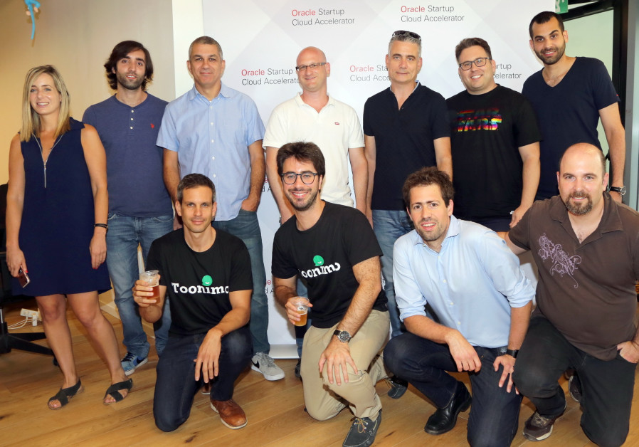 Oracle's five Israeli Startups selected for its Startup Program in Tel Aviv.
