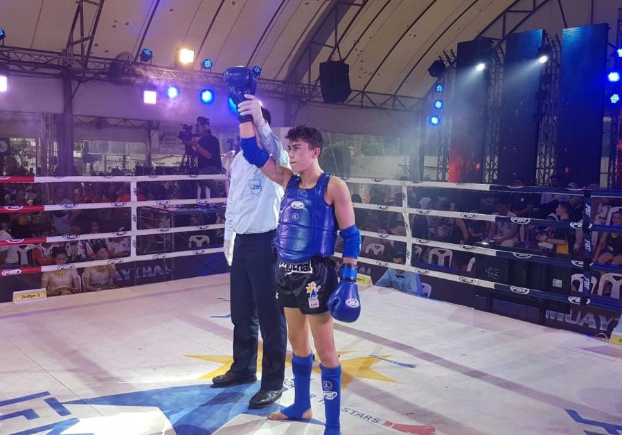 Amit Mdah wins bronze in Thailand.