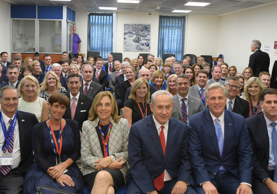Prime Minister Netanyahu met with US Congress delegation, August 10, 2-17.