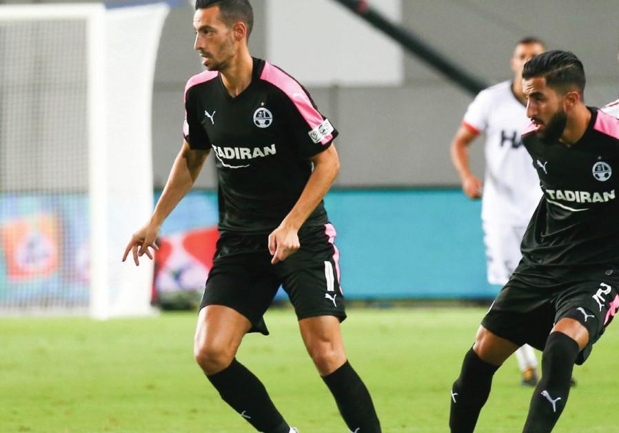 Hapoel Beersheba midfielder Dan Einbinder.