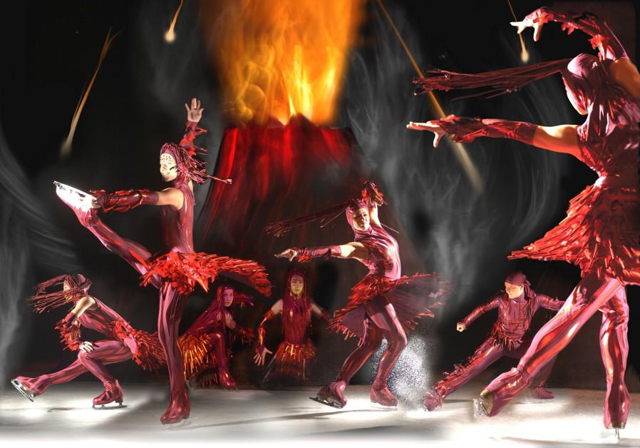 'Cirque de Glace' ice dancers put on quite a show in Jerusalem