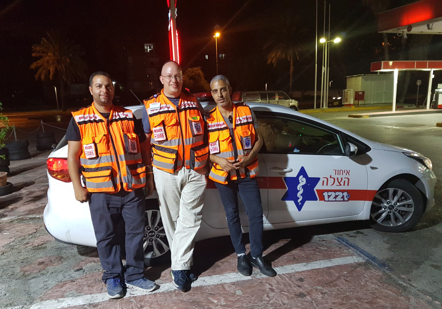 Riding along with the lifesaving night owls of United Hatzalah