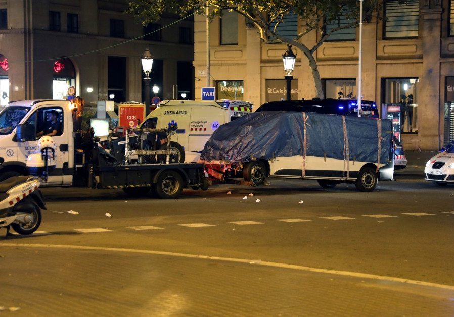 Spanish Police Shoot Suspect In Hunt For Barcelona Shooter World