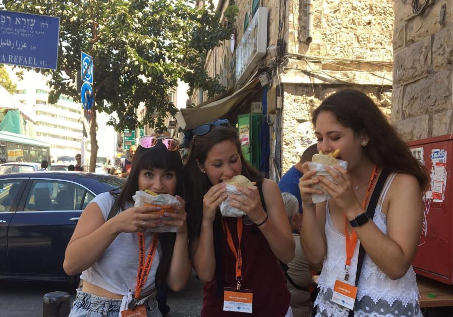 Saying yes to falafel