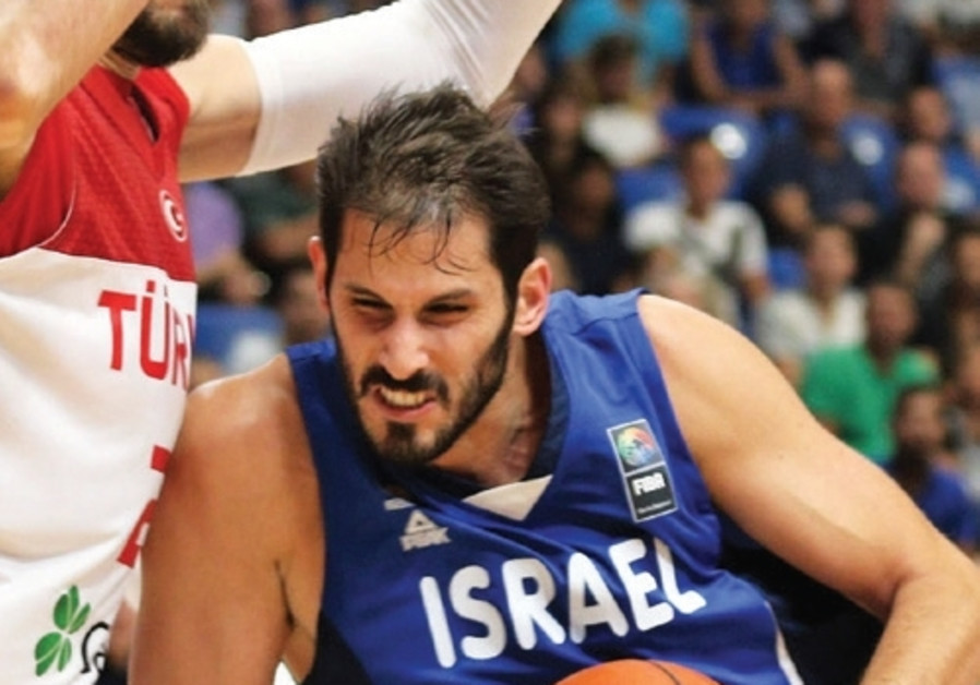 Israel forward Omri Casspi led the national team with 18 points and 10 rebounds at Yad Eliyahu Arena