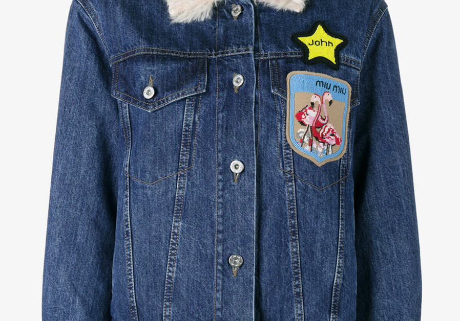 A jacket designed by Miu Miu that has been criticized.