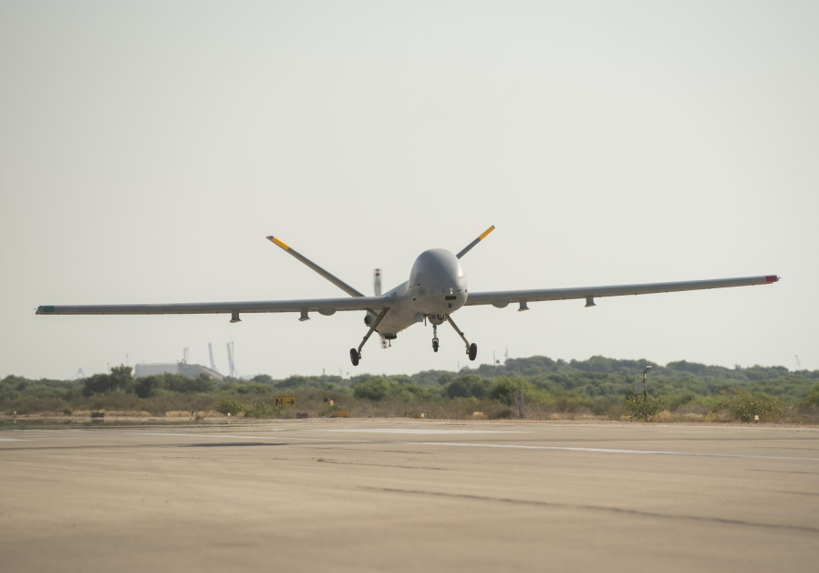 The IDF Hermes 900 Kochav Drone