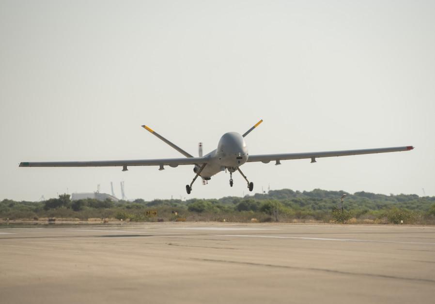 The IDF Hermes 900 Kochav Drone