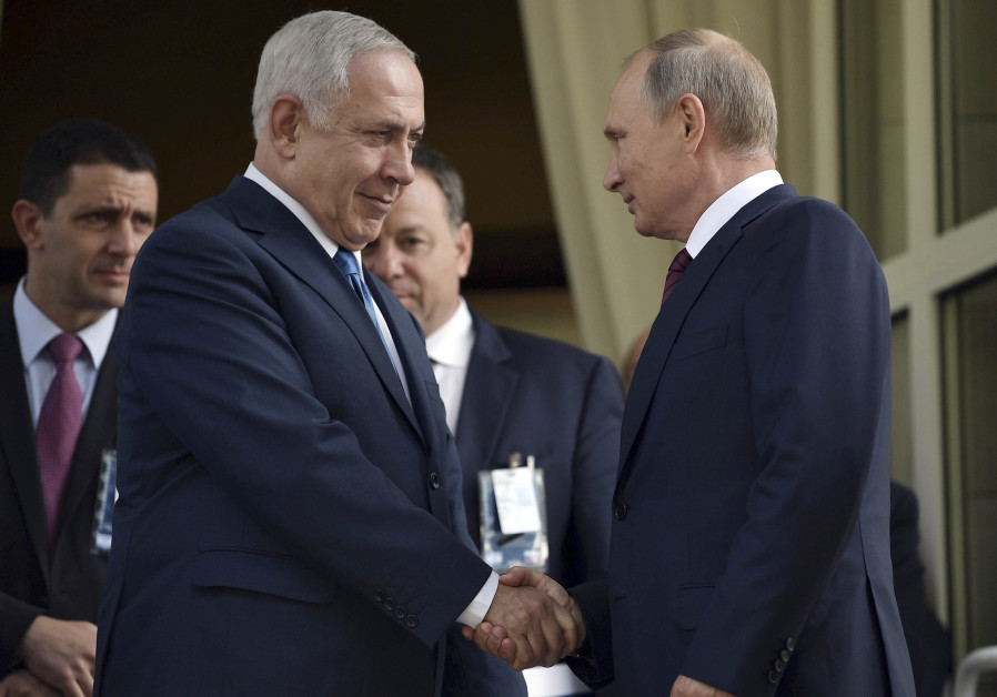 Putin briefs Netanyahu after meeting with Assad, calls with leaders
