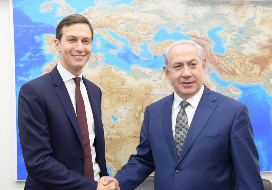 Prime Minister Benjamin Netanyahu meets Jared Kushner in Israel