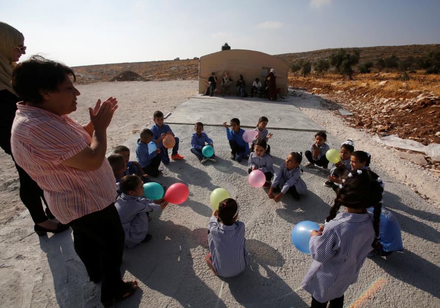 EU demands Israel rebuild illegal Palestinian school structures