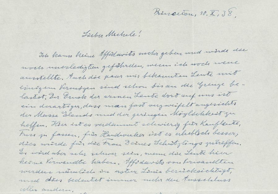 Einstein letter slamming Chamberlain sells for $31K