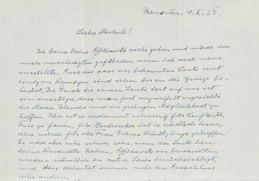 Einstein letter slamming Chamberlain sells for $31K