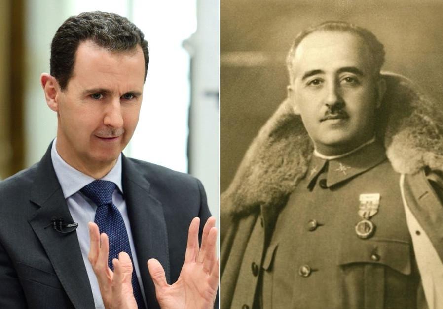 Middle Israel: When Bashar Assad met General Franco