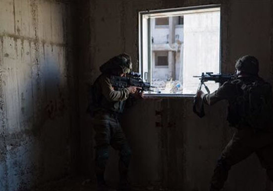 IDF maintains readiness as soldiers drill for urban combat in Gaza