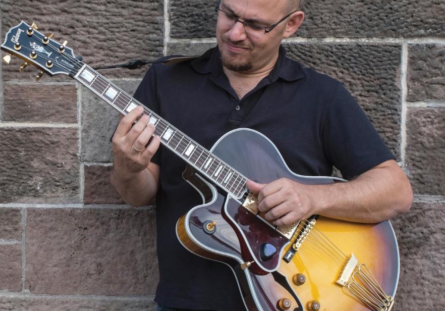 Guitarist Avi Rothbard