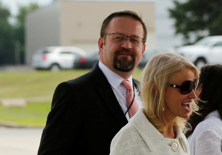 Ex-White House staffer Sebastian Gorka