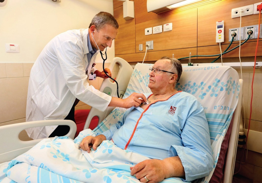 Israeli doctors are first to implant device for congestive heart failure