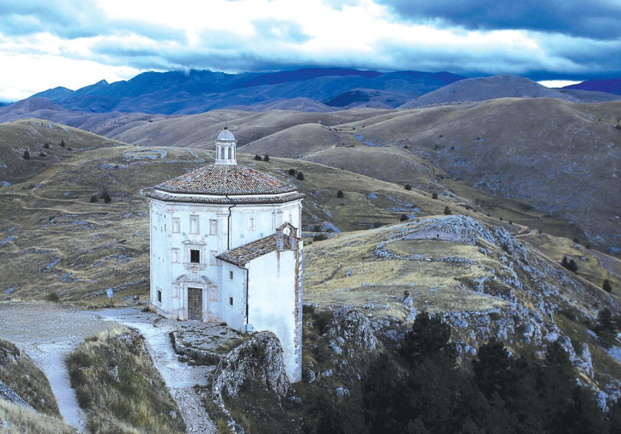 VIEW IN the Abruzzo area, Italy, last year.