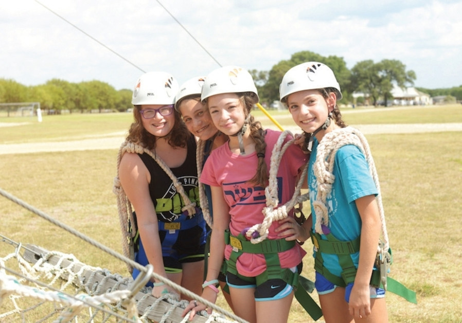 Campers spend time at Camp Young Judaea-Texas before Hurricane Harvey. The camp has since opened its