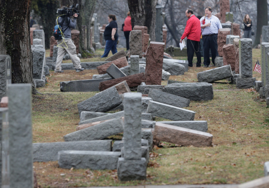 ADL report: 67% increase in U.S. antisemitic incidents in 2017