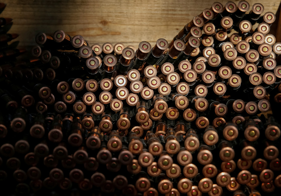IDF investigating theft of 15,000 bullets from a southern army base