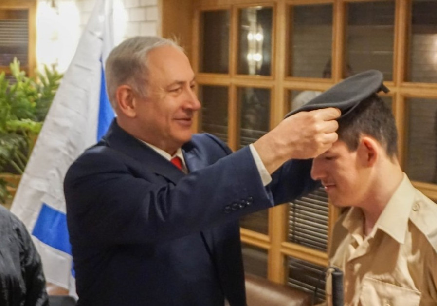 Blind soldier fulfills lifetime dream of joining the IDF