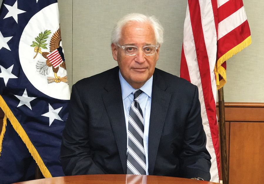 US ambassador David Friedman drops out of West Bank memorial ceremony for murdered US citizen