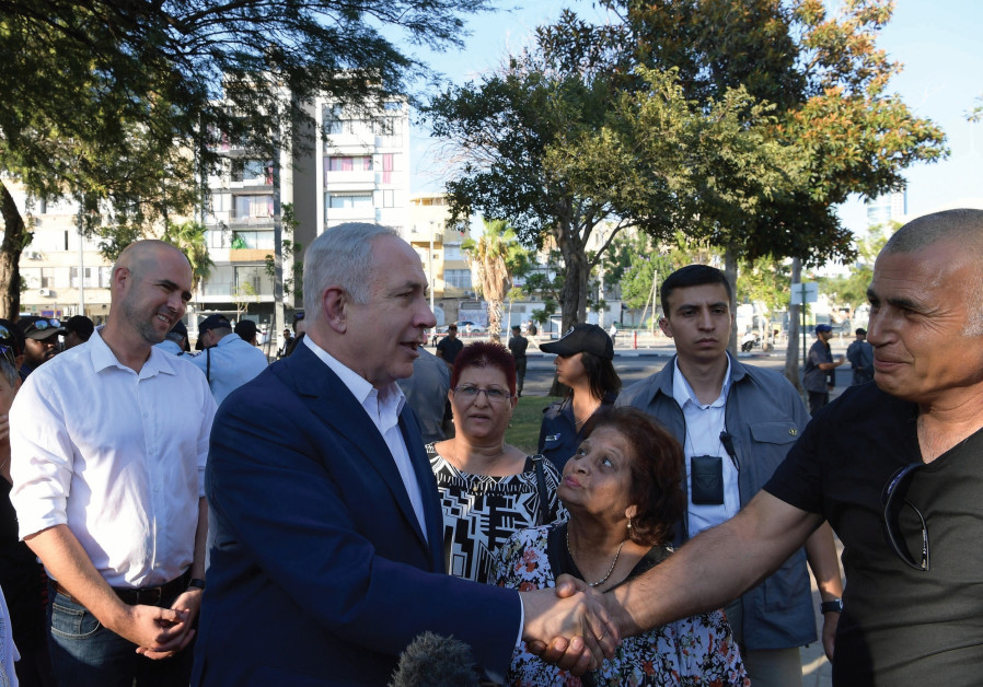 Is Netanyahu already on the campaign trail?