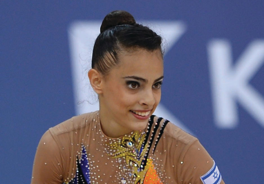 Israeli gymnast Linoy Ashram won an historic bronze medal in the all-around final at the World Rhyth