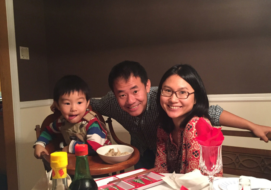 Xiyue Wang (Center), a naturalized American citizen from China, arrested in Iran while researching P