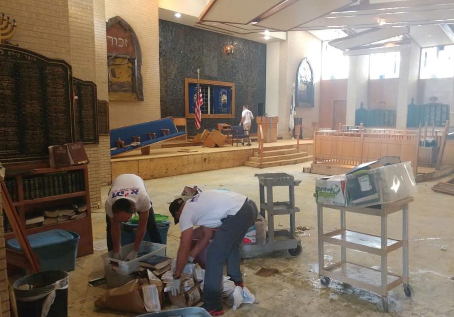 Jewish and Israeli groups rally to help hurricane victims in Houston