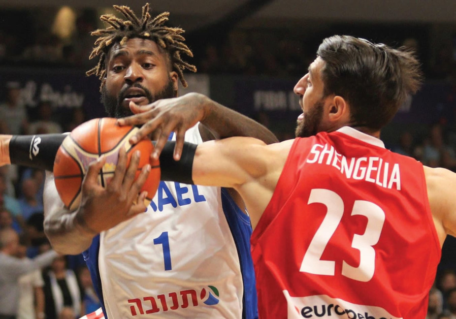 Israel's EuroBasket dreams end with defeat to Georgia