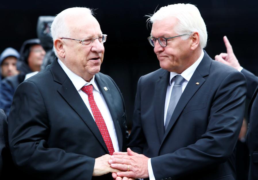 President Rivlin inaugurates Munich memorial for slain Israeli Olympians