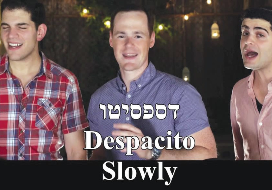 JEWISH A CAPPELLA group Maccabeats performing their version of 'Despacito.'