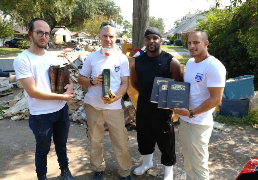 Jewish texts that survived Hurricane Harvey