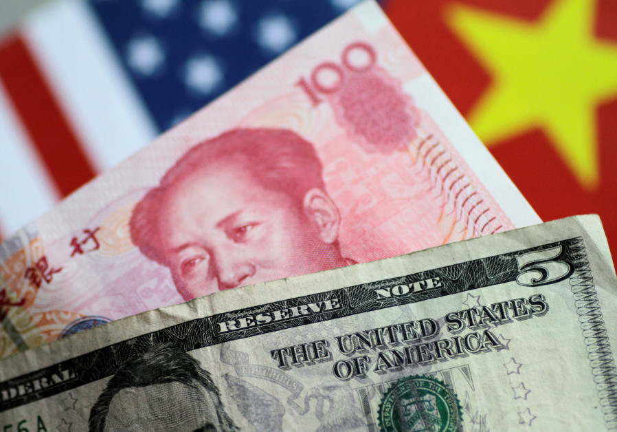The Dollar and Yuan compete for influence.