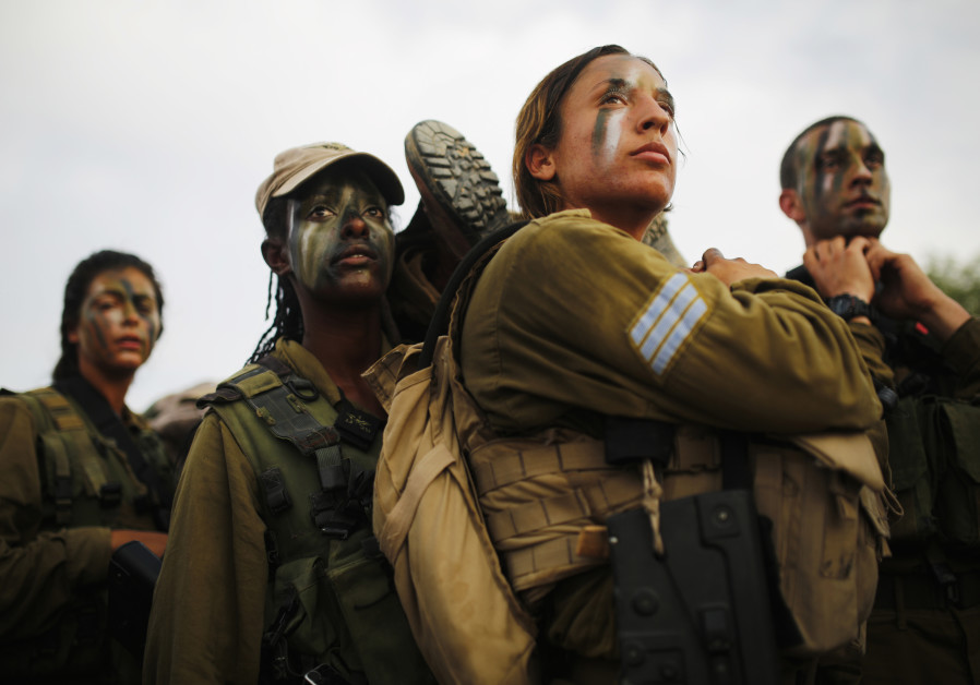 Israeli soldiers of Caracal battalion
