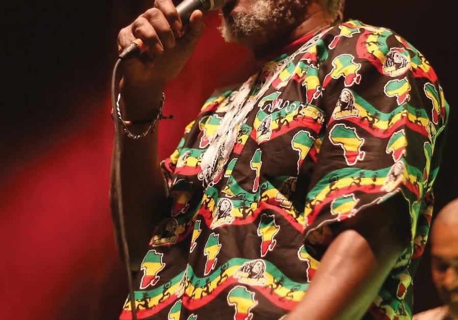 JAMAICAN REGGAE music star Horace Andy.