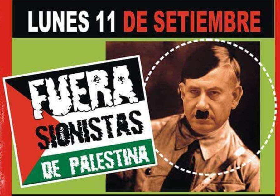 Netanyahu depicted as Hitler in Argentina posters ahead of key visit
