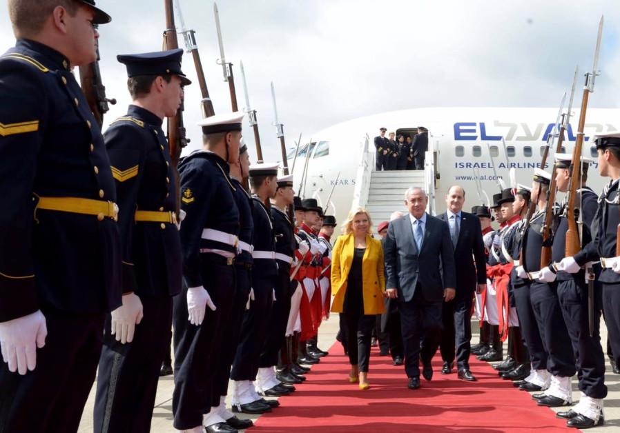 Netanyahu in Argentina